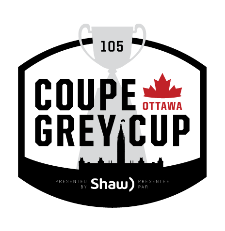 Grey Cup Logo - Links to TD Place at Lansdowne destination page